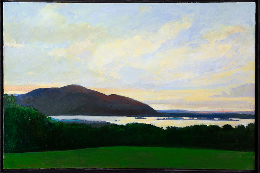 Squam-Lake-at-Dusk-18x30-inches