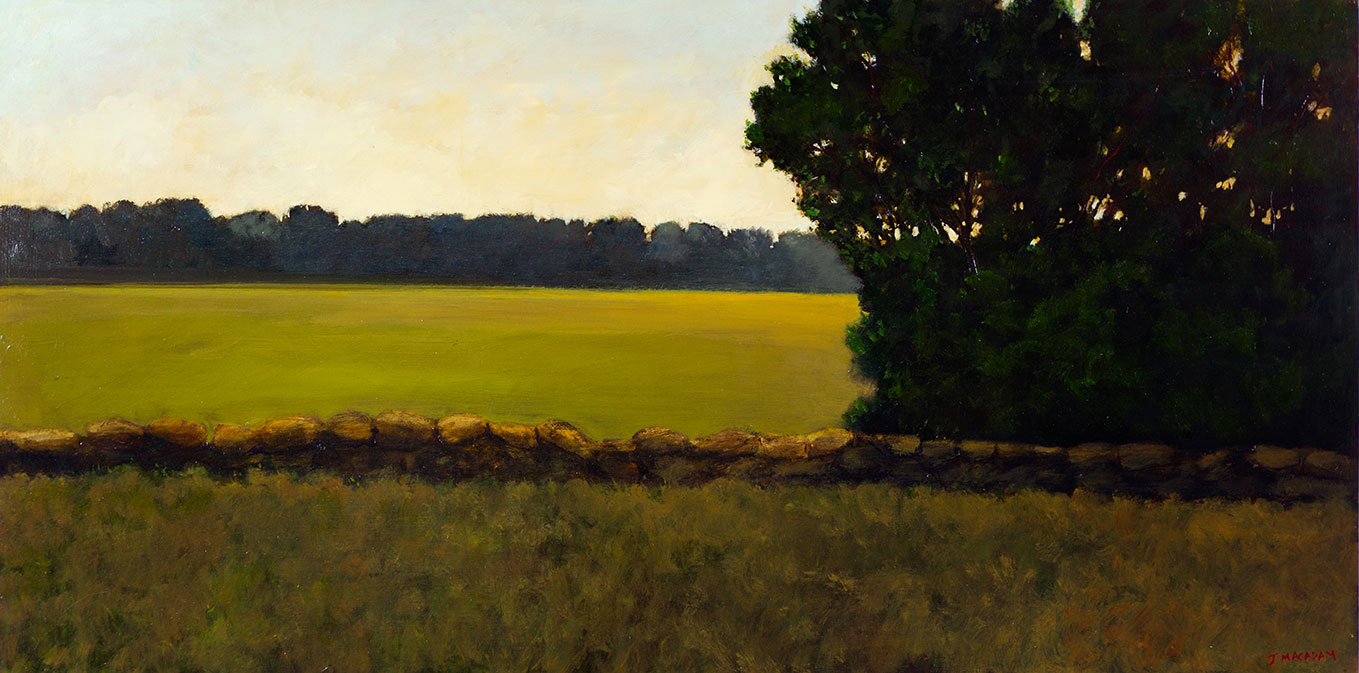 Stone-wall-through-landscape-24x48-inches