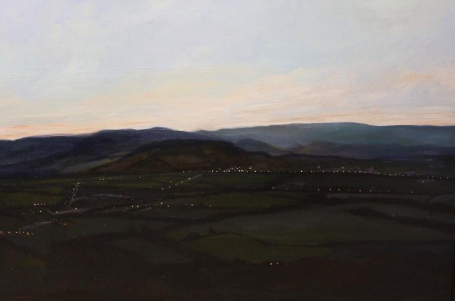 Orvieto Valley at Dusk